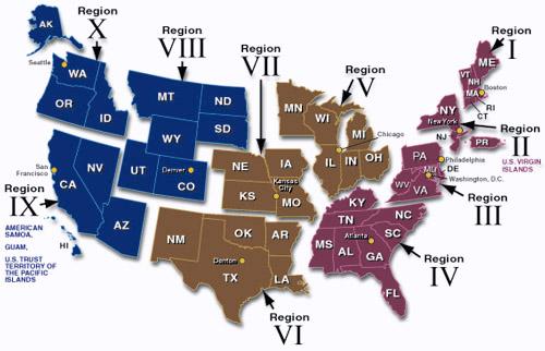 FEMA Regions1